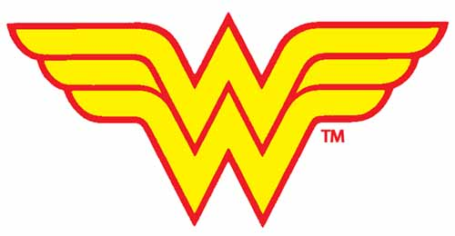 Wonder Woman Logo http://bigwords88.wordpress.com/2010/01/23/icon-redux-wonder-woman/